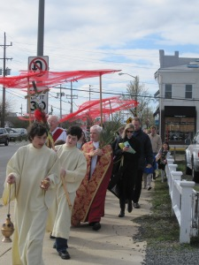 Palm Procession 041711 procession 1