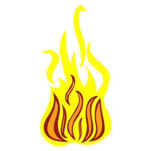 Isolated_fire_on_white_background