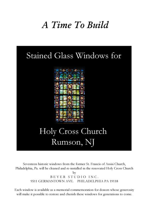 Holy Cross Windows 1